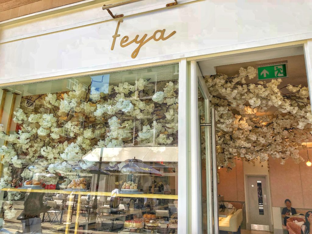 Feya Cafe London S New Most Instagrammable Cafe In